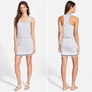 Soft Joie Bond B Gray White Tank Dress Small